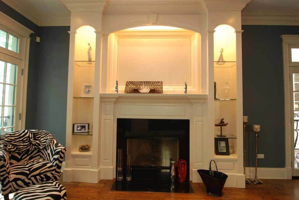 Poplar Wallcott Fireplace Surround by Emerald Custom Wood Design at CustomMade.com