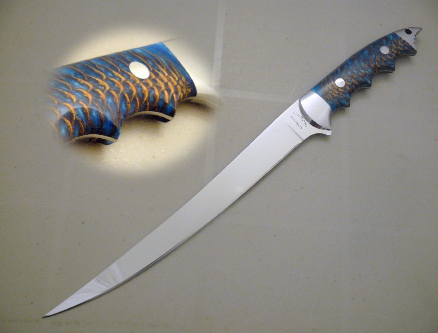 Fillet Knife by Cote Custom Knives at CustomMade.com