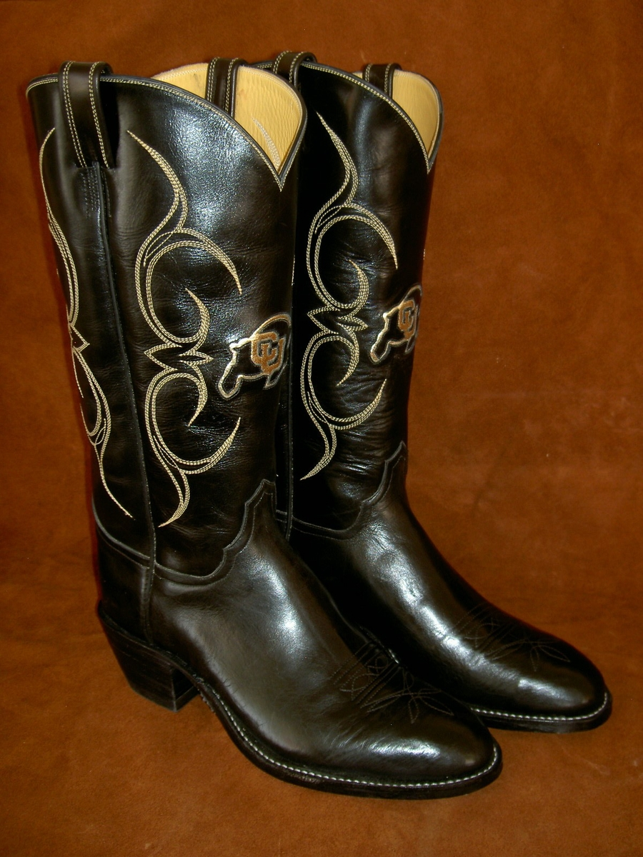 sports fans tell your story with custom cowboy boots by
