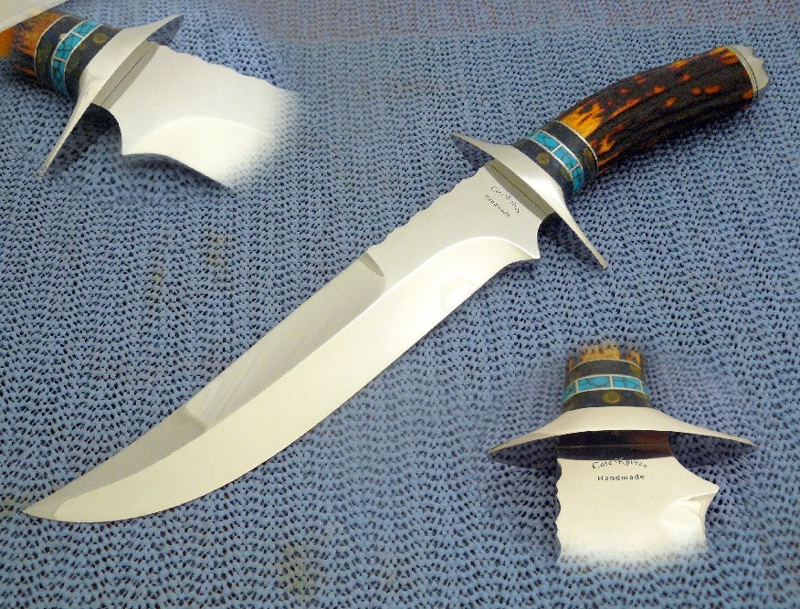Persian Fighter by Cote Custom Knives at CustomMade.com