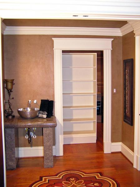 Concealed Closet or Hidden Storage by Dowd Temple Designs at CustomMade.com