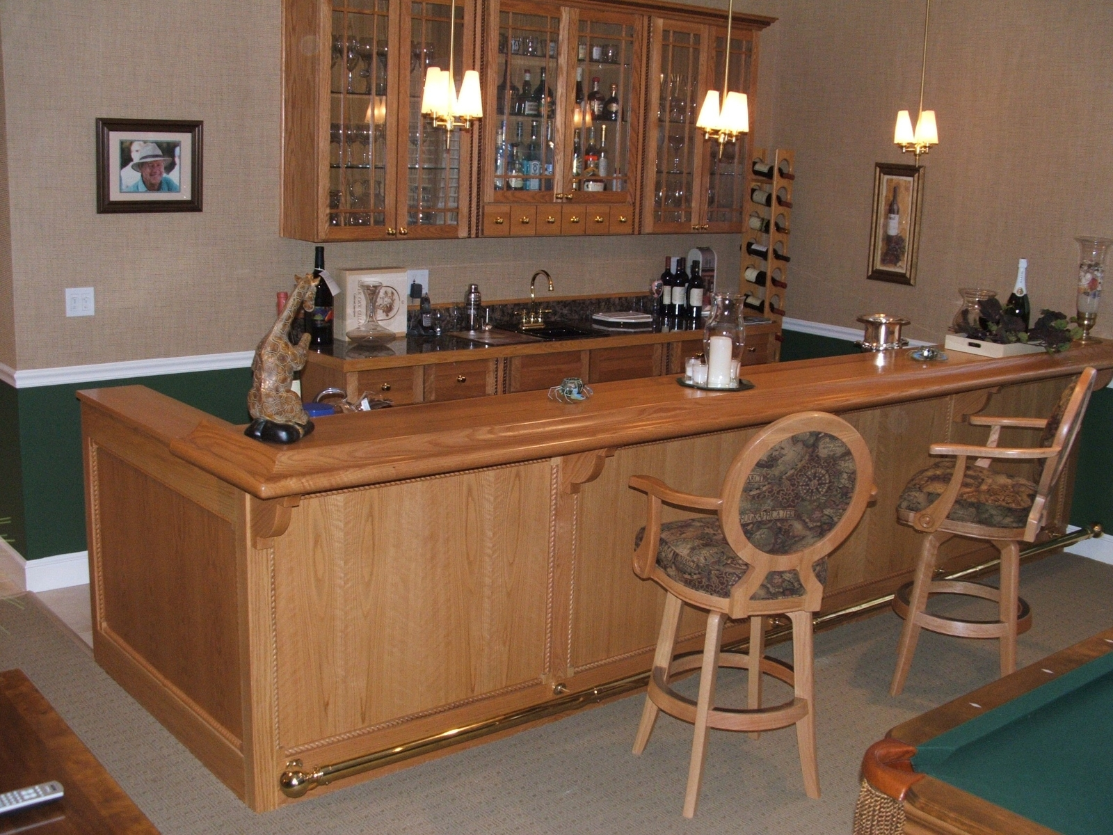Custom home bar ideas made by custommade - Bars for house ...
