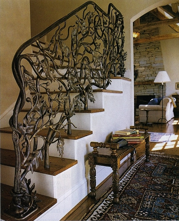 Captivating 4sqADxreQC0P2sOngkMp_Oak Leaf And Acorn Stair Railing By John