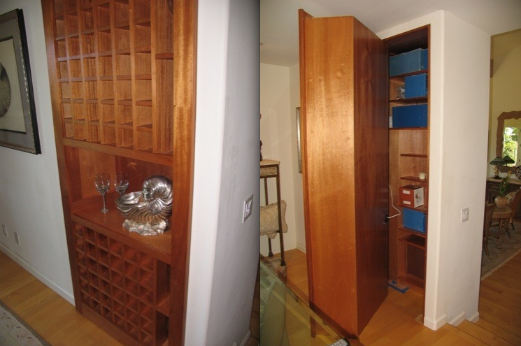 Secret compartments and concealed doors hidden storage for Hidden storage ideas