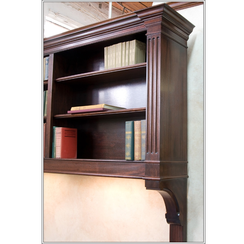Mahogany Hanging Bookcase by Turner Custom Furniture at CustomMade.com