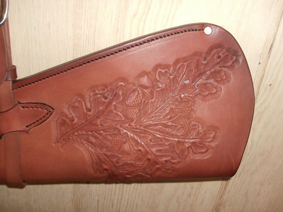 Tooled Rifle Scabbard by The Saddle Shack at CustomMade.com