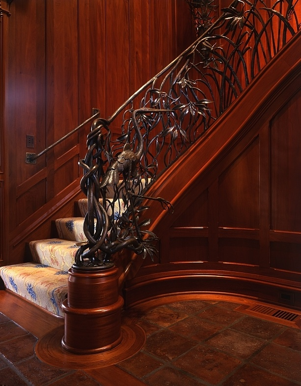 Low Country Stair Railing by John Boyd Smith Metal Studios at CustomMade.com