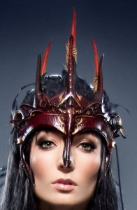 Dark Faery Queen Headdress by Ragged Edge Leatherworks at CustomMade.com