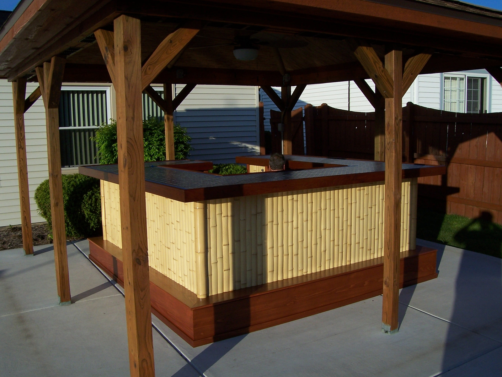 Bamboo Tiki Bar By Jeffrey William Construction Inc. At CustomMade.com