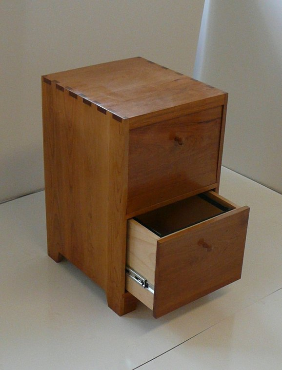 Cherry File Cabinet by MDP Fischer at CustomMade.com