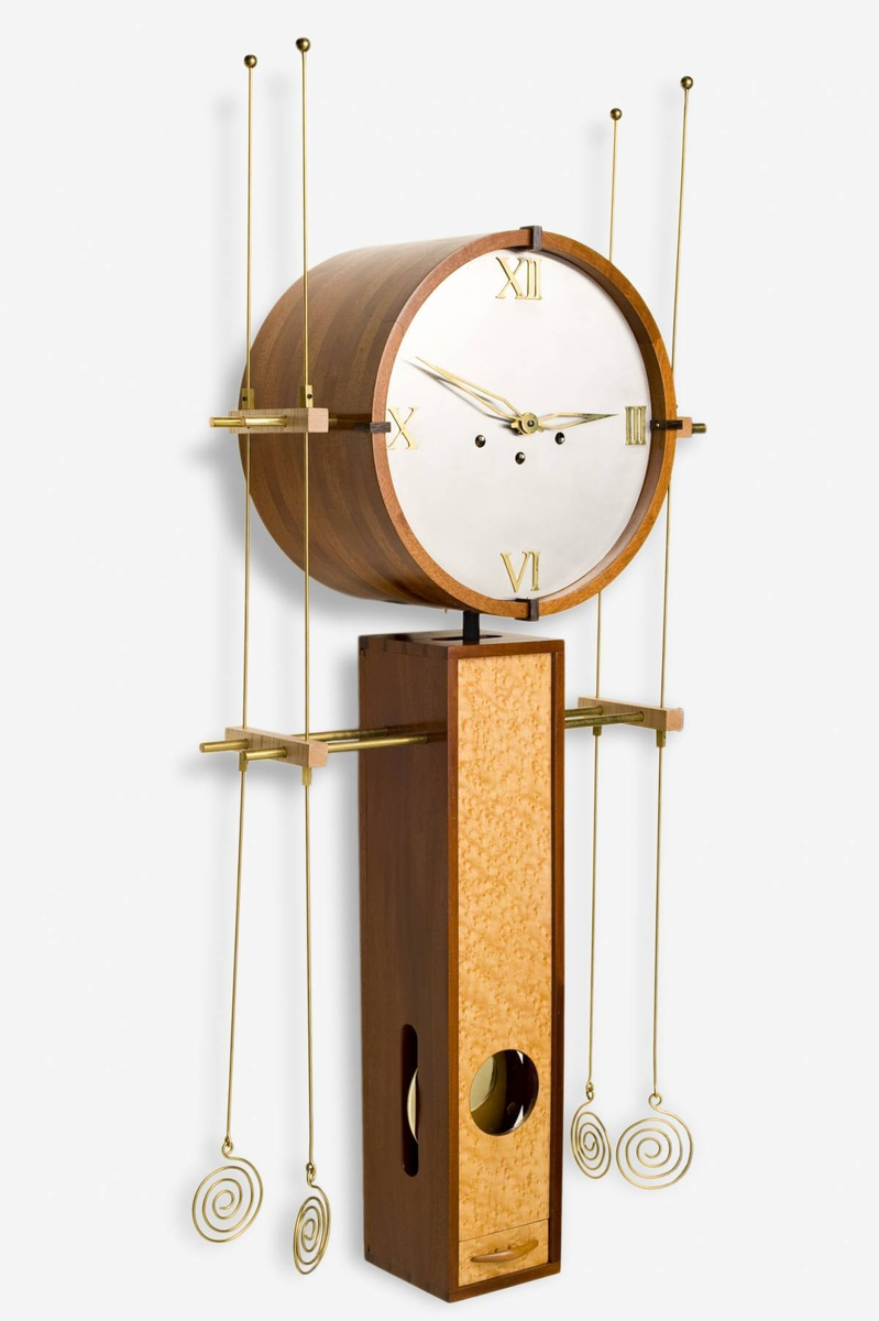 Contemporary Wall Clock by John Herbert Boston Furniture Collaborative at CustomMade.com