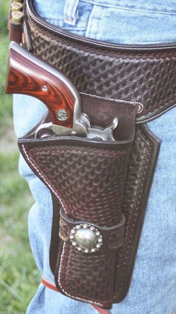 Gun Belt and Holster by Goetz Custom Leather at CustomMade.com