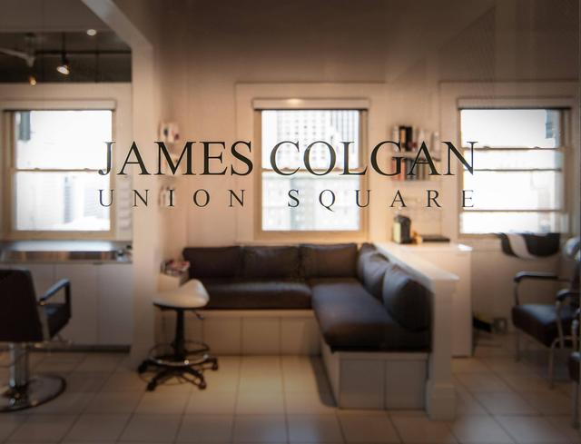 James Colgan Salon Sign