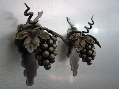 Grape Cluster Wine Door Knocker and Door Pulls by Green Tree Jewelry / Heavy Hitter Ind. on CustomMade.com
