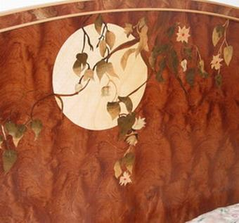 Moon Rise Headboard by Scandia Custom Furniture at CustomMade.com