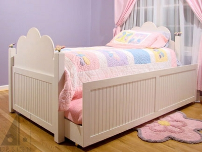 Children's Trundle Bed by Alan Harp Design at CustomMade.com