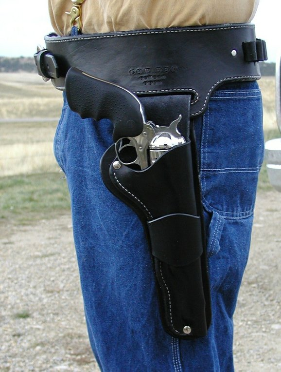 Gun Holster by 2nd Chance Custom Leather at CustomMade.com