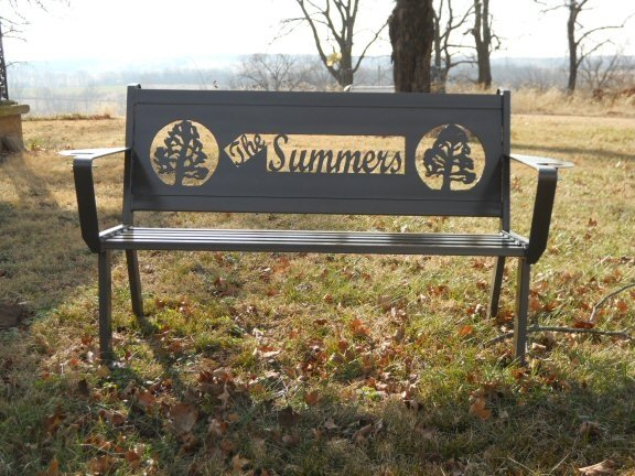 Custom Outdoor Benches By Hooper Hill Custom Metal Designs Made By Custommade