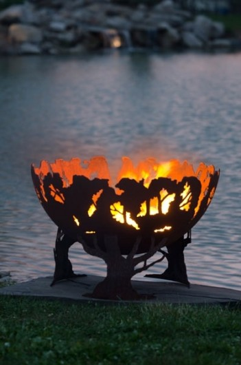 Melissa And Jason Crisp S Unique Fire Pits Made By