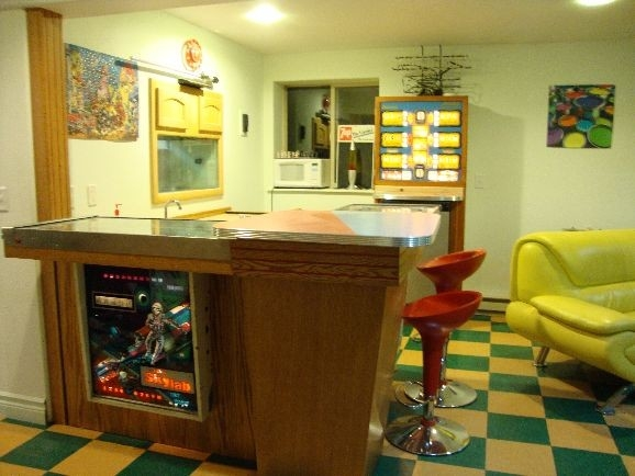 Pinball Machine Bar by Legendary Heirloom at CustomMade.com