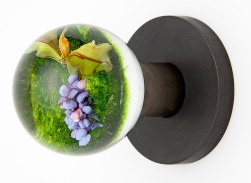 Grape Vine Doorknob by Out of the Blue Design Studio on CustomMade.com