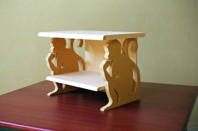Monkey Nightstand by Third Street Studios at CustomMade.com