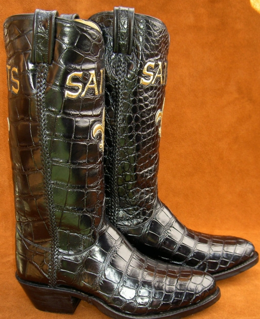 Custom Inlaid Alligator Boots by Ghost Rider Boots at CustomMade.com