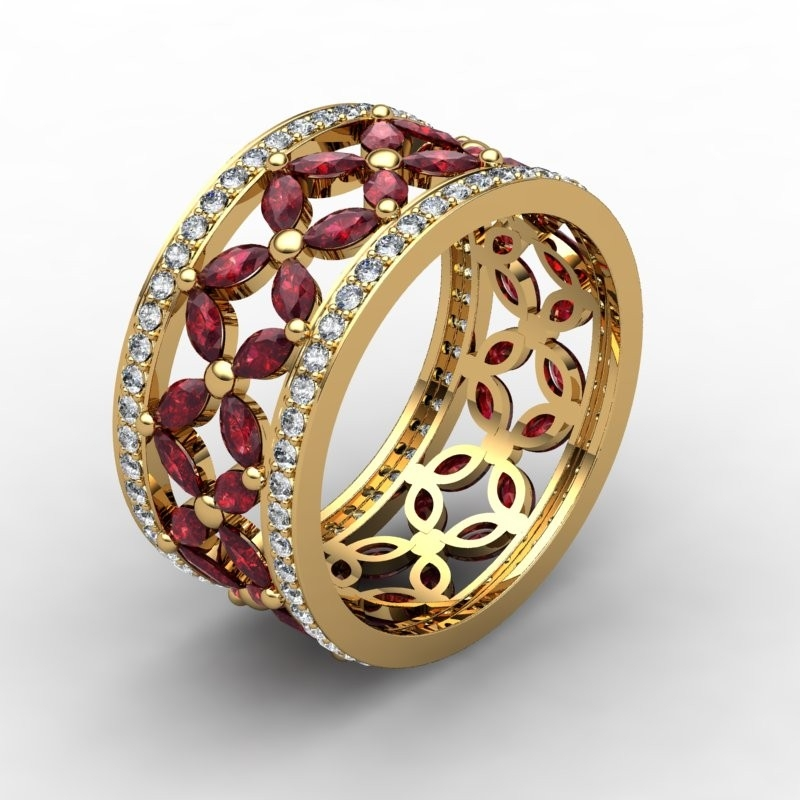 designed a ruby ring and you too can design a custom wedding ring