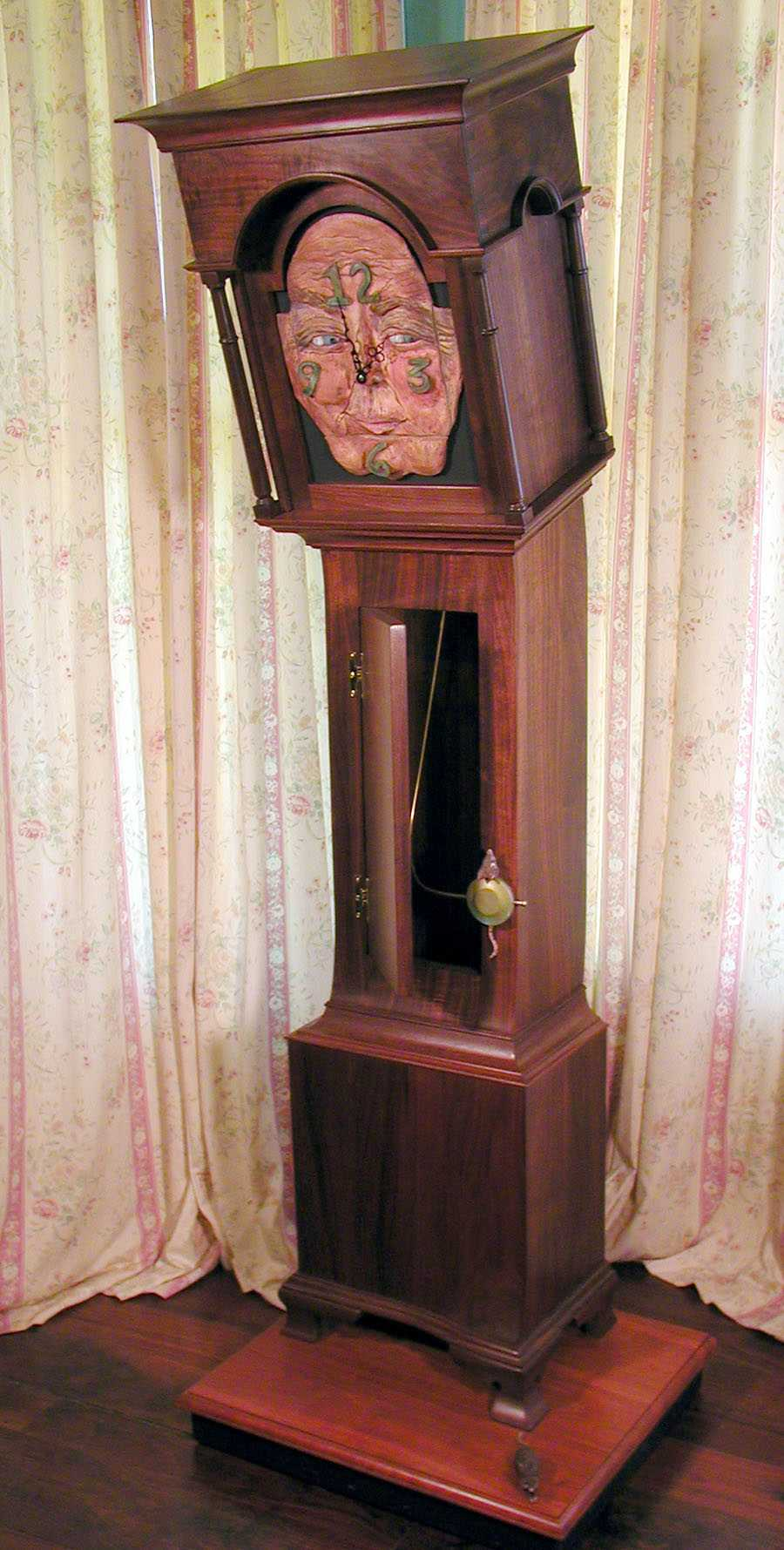 Hickory Dickory Clock by Jake Cress Furniture Maker at CustomMade.com