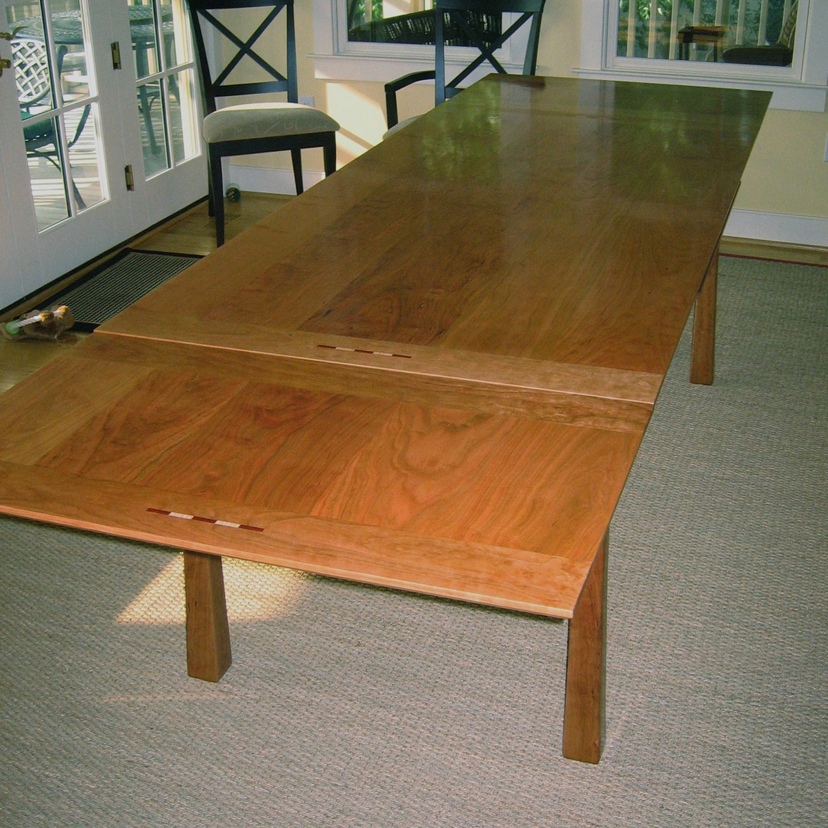Dining Table Extended Joseph Murphy Furniture Maker At