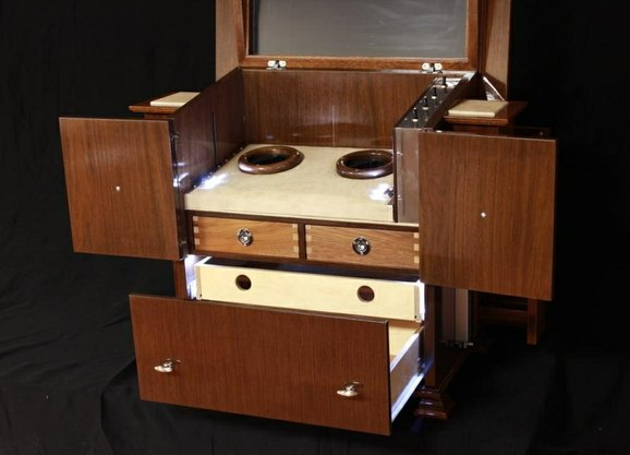 Custom Made Watch Winder by RJ Hoppe Inc. at CustomMade.com