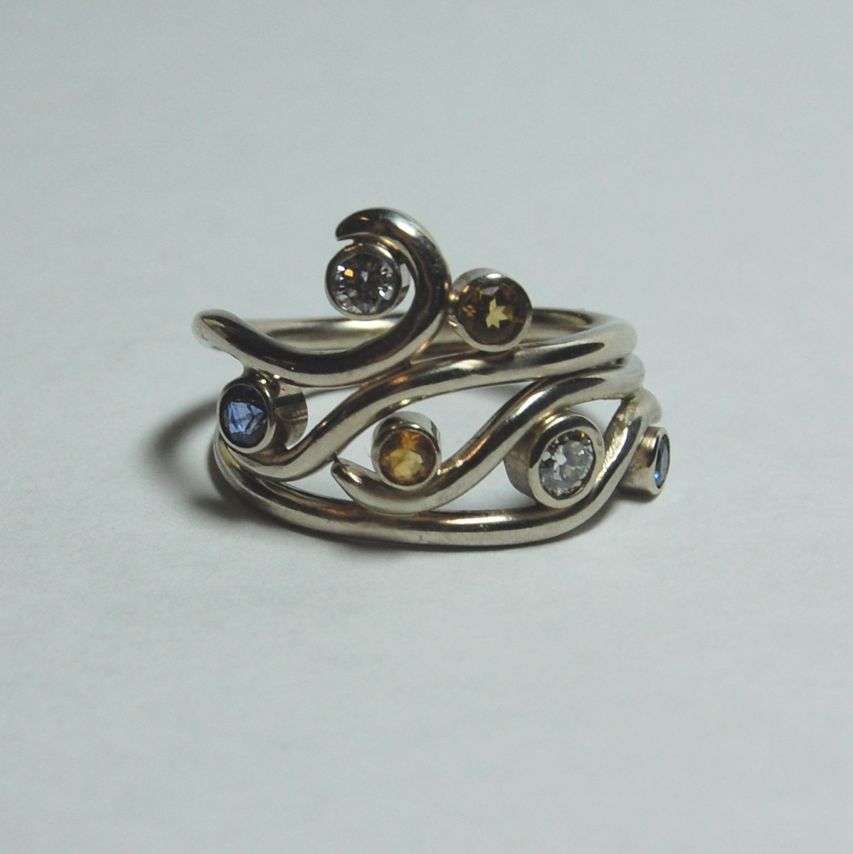 From something old something new non traditional for Custome wedding rings