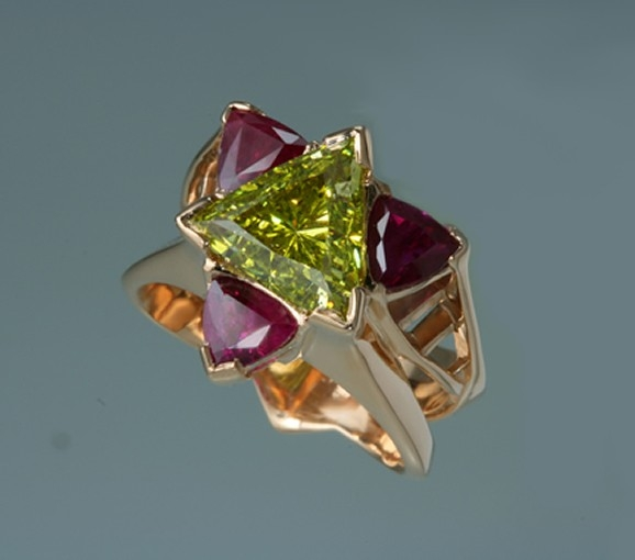 Yellow Canary Ring by J.S. Gwinn Fine Jewelry at CustomMade.com