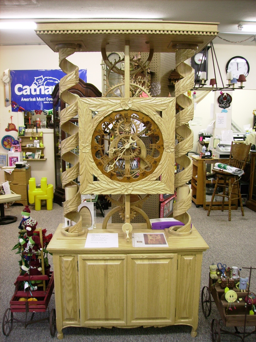 Hemingway Limited Edition Clock by Grandfather Clocks Plus Inc. at CustomMade.com