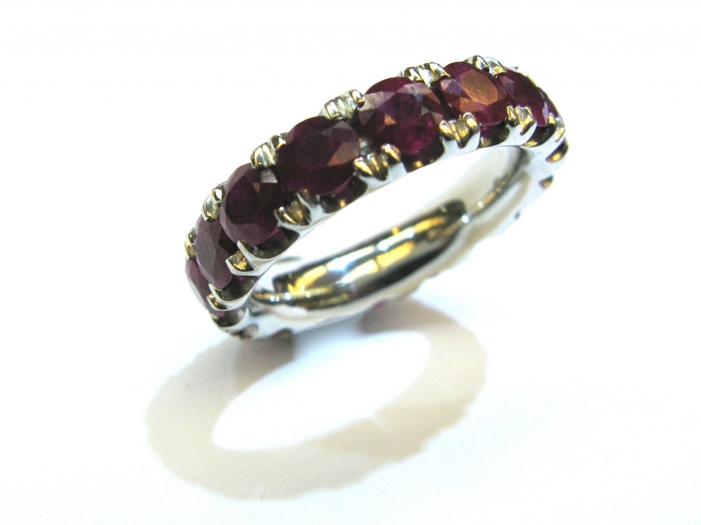 5 CTW Natural Ruby Ring by The Perfect Setting at CustomMade.com
