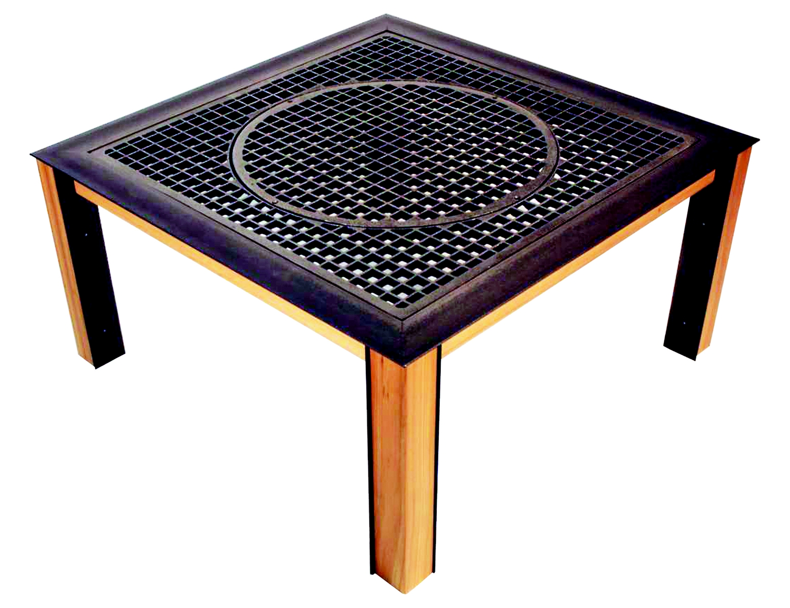 Grate Table #3 by Steelhead Studios at CustomMade.com