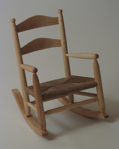 Child's Rocking Chair by SilverTree Woodworking at CustomMade.com