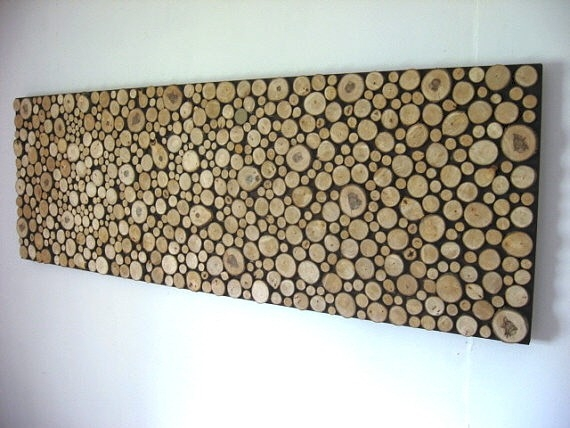 Rustic Wood Headboard by Modern Rustic Art at CustomMade.com