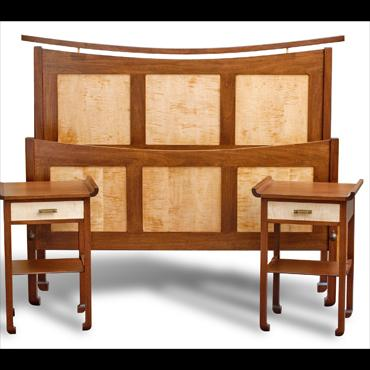 Arts and Crafts Bedroom Set by Andy's Fine Furniture at CustomMade.com