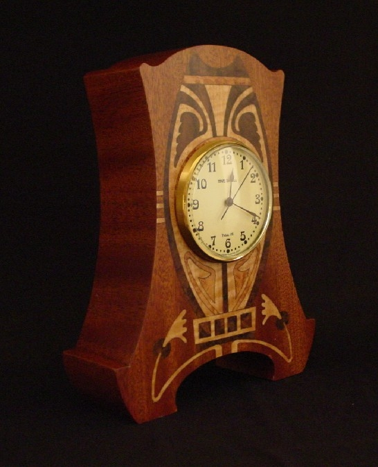 Art Nouveau Clock by MWB Studios at CustomMade.com