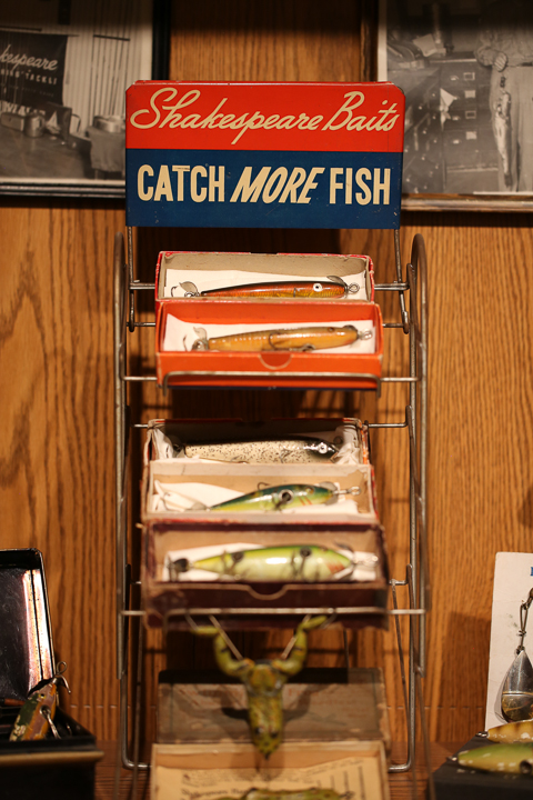 Frank's Antique Shakespeare Fishing Tackle & Lure Collection