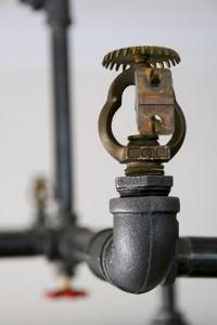 Reclaim, Reverse, Resurrect: Fire Sprinkler Photograph