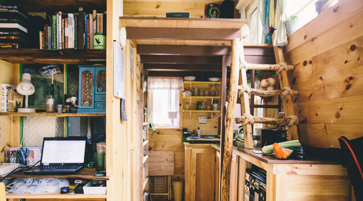 Scaling Down One Couple Builds a Tiny House tinyhouse