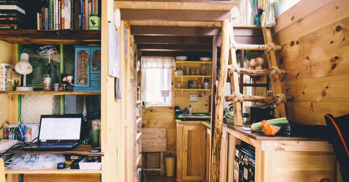 Scaling down one couple builds a tiny house tinyhouse for Building a house blog