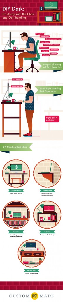 DIY Desk: Do Away with the Chair and Get Standing