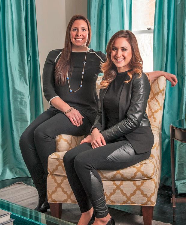 Allison Ducharme and Victoria Sirchia